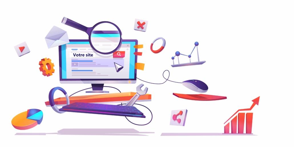 Positionnement google en premiere page avec mon-emage.com